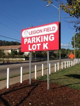 LegionFieldParkingSign1