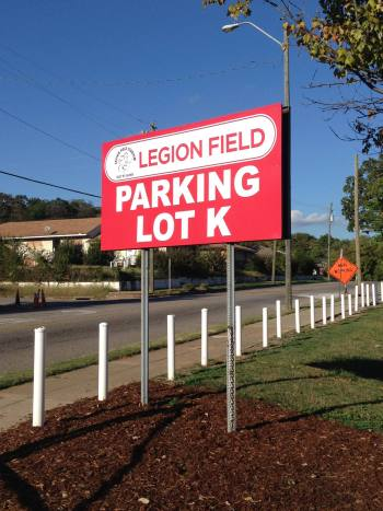 LegionFieldParkingSign1