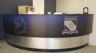 McDowell Security Desk