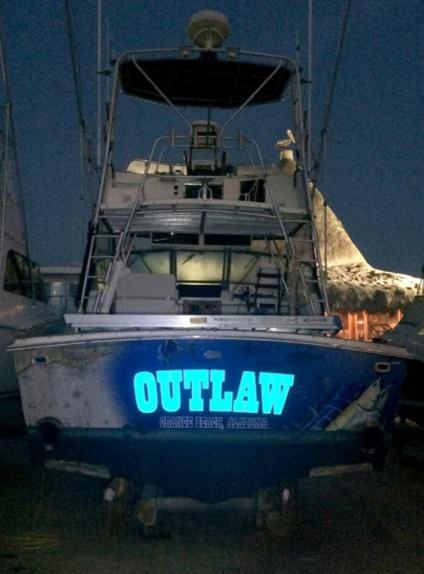 boat - reflective