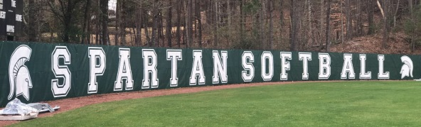 spartan softball