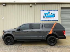 f150 matte black and orange wrap IMG_4912