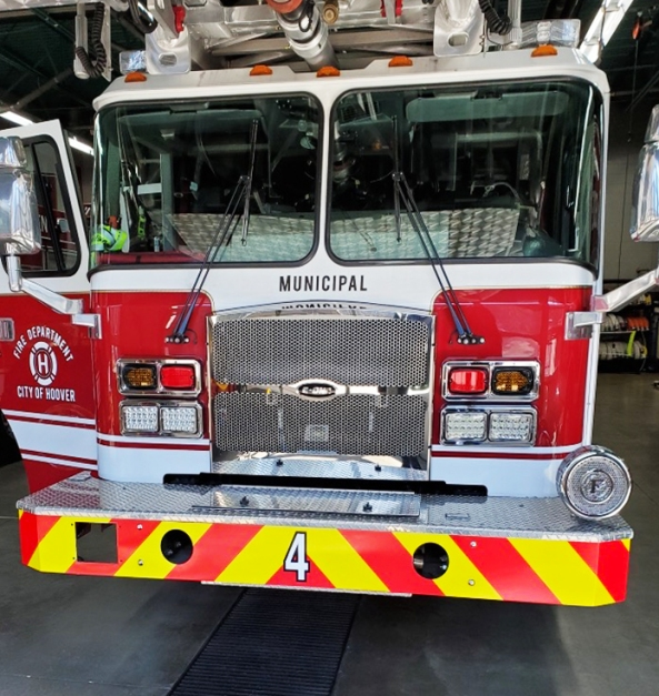 firetruck reflective bumper EDIT