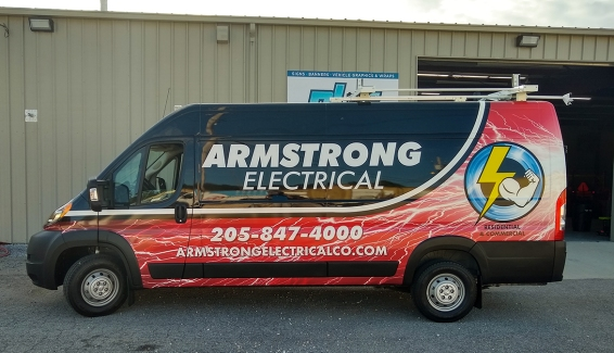 Armstrong Electrical Van
