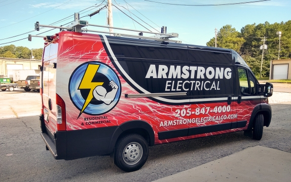 Armstrong Electrical Van 4