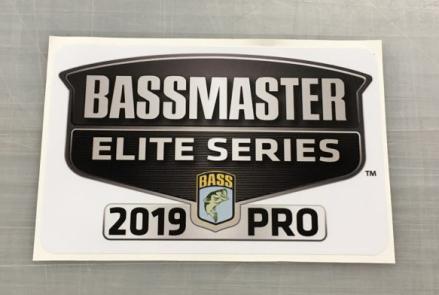 Bassmaster Sticker 2019