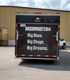 Bassmaster Tourney Trailer Gate