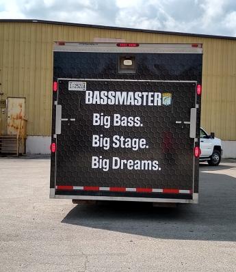 Bassmaster Tourney Trailer Gate
