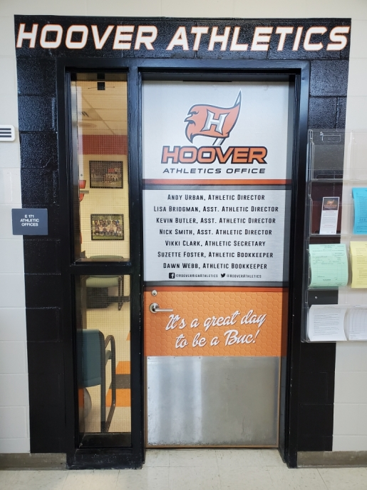 Hoover High Athletics Entrance