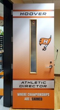 Hoover High Athletics Doors