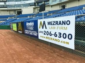 Sponsor Banners Hoover Met