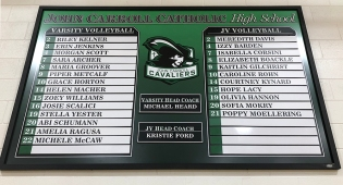 JCCHS Volleyball Roster