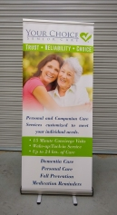 Your Choice Pull Up Banner