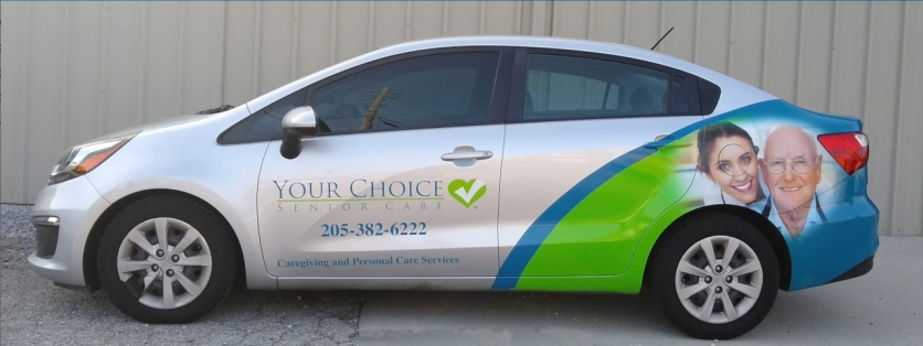 Your Choice Vehicle Wrap