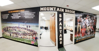 MtnBrookSpartans_wallmural